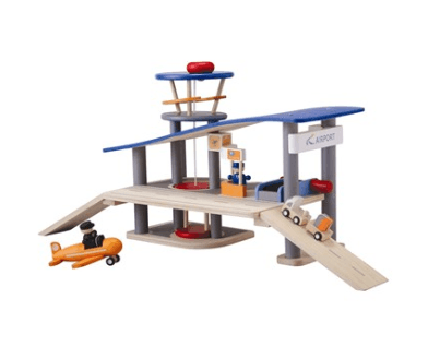 plan toys wooden airport