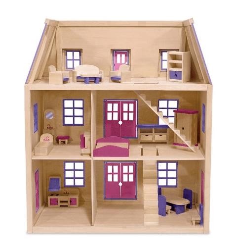 melissa and doug dollhouse