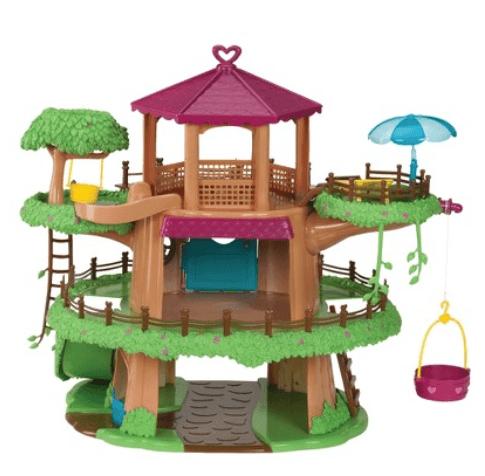 family treehouse doll house