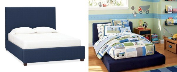 bleu bed