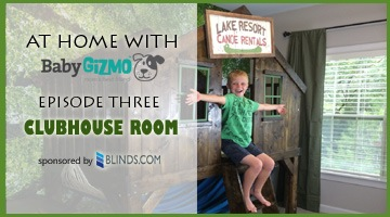 At Home with Baby Gizmo Episode Three – The Clubhouse Room