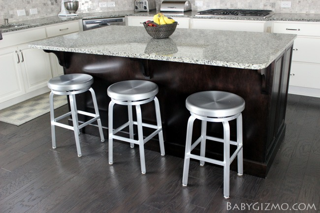 Crate and Barrel Spin Stools
