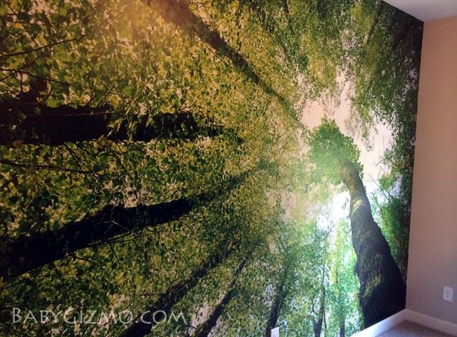 tree mural wallpaper