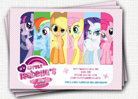 pony invite example