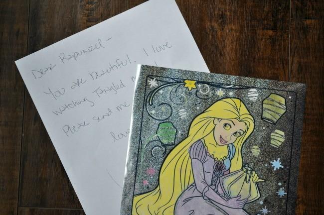 rapunzel letter