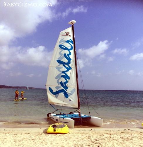 sandals sailing