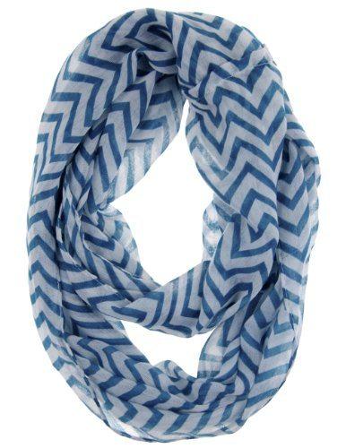 striped neck scarf
