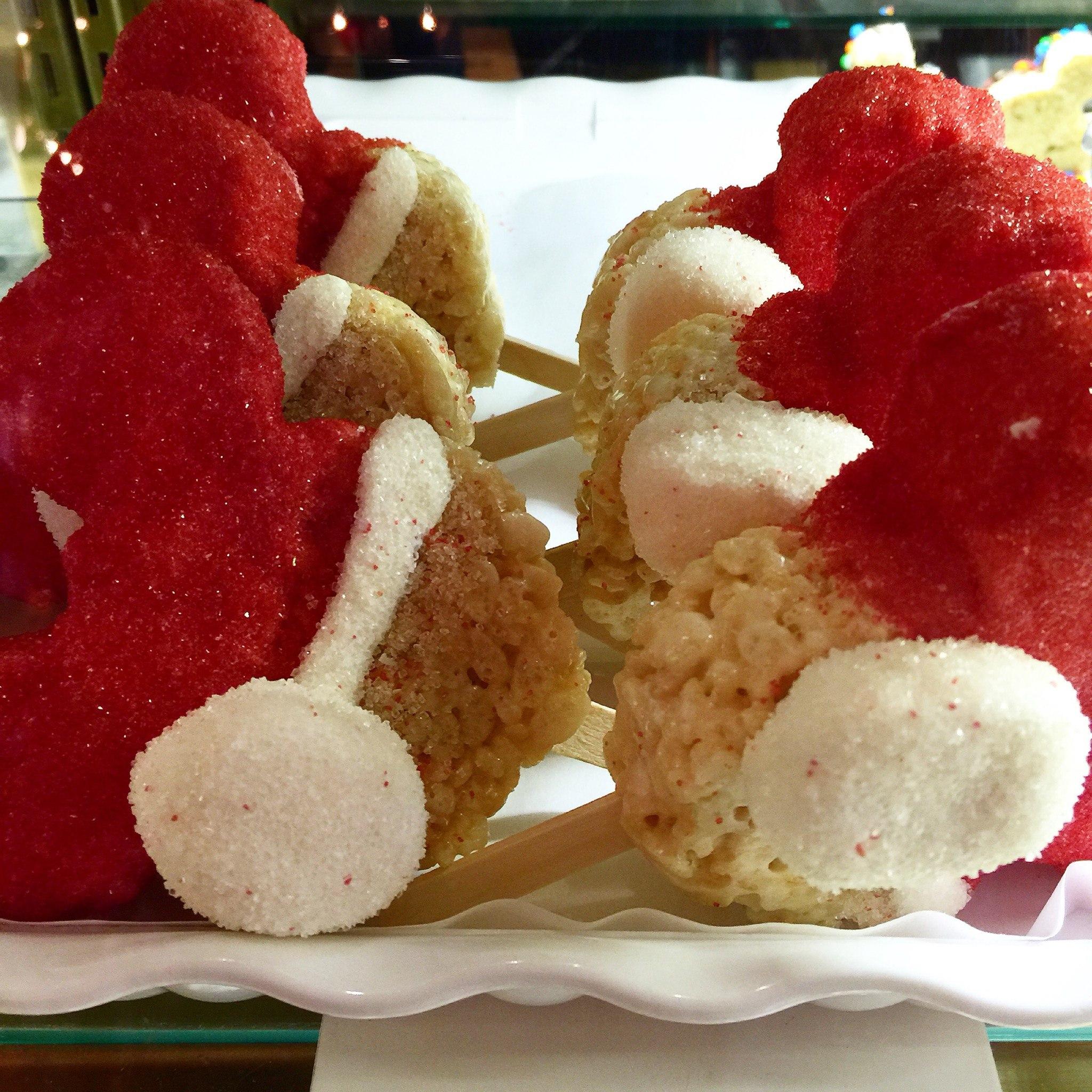 santa hat treats