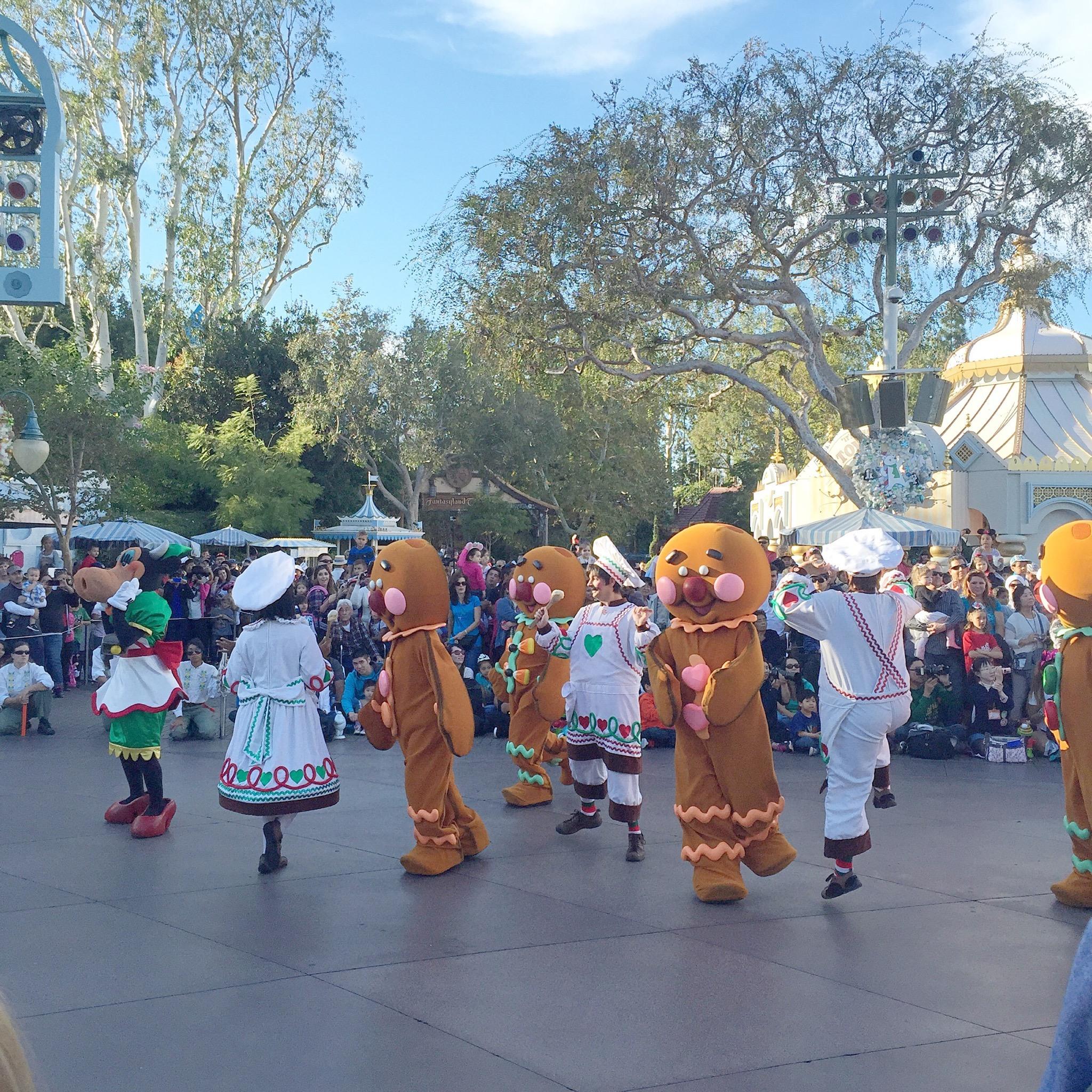 gingerbread parade