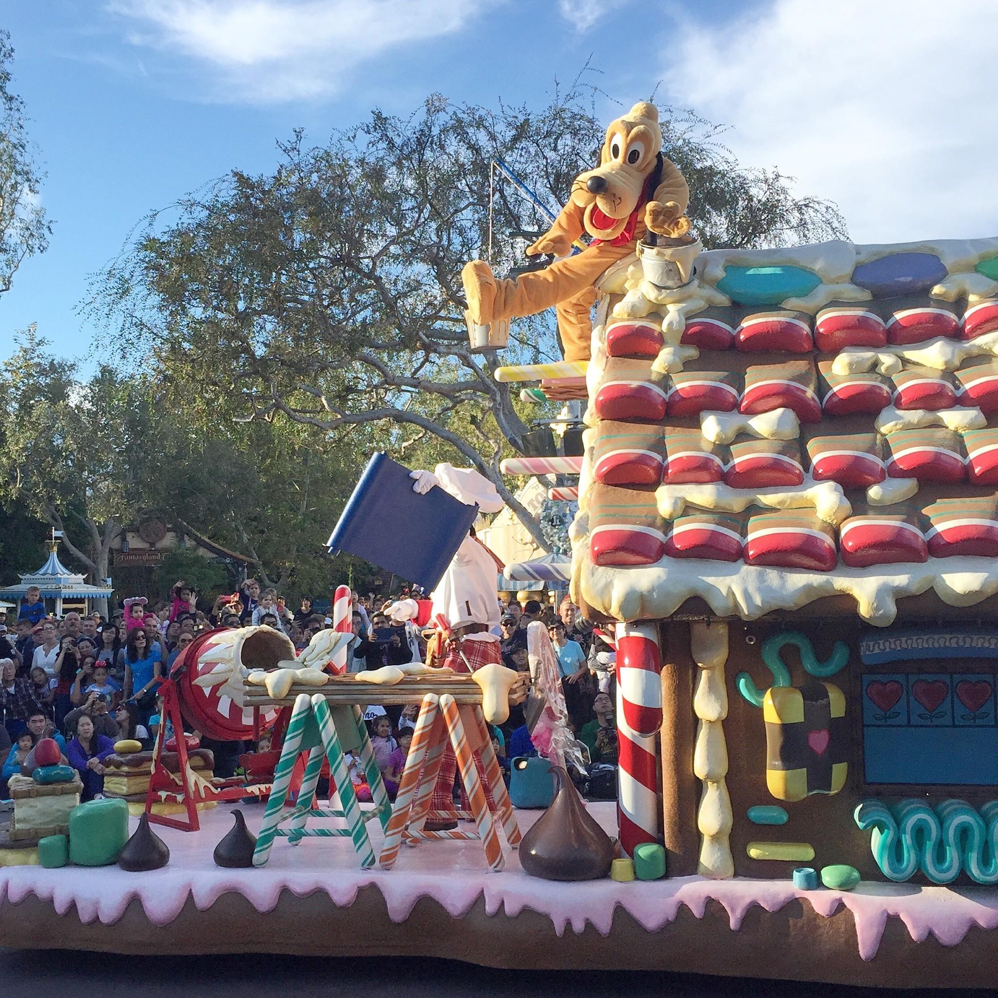 pluto parade