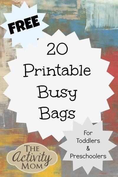 printable busy bags