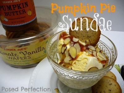 Pumpkin Pie Sundae 1