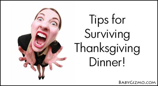 Tips for Surviving Thanksgiving Dinner