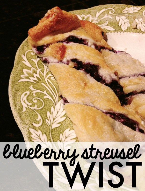 blueberry streusel twist
