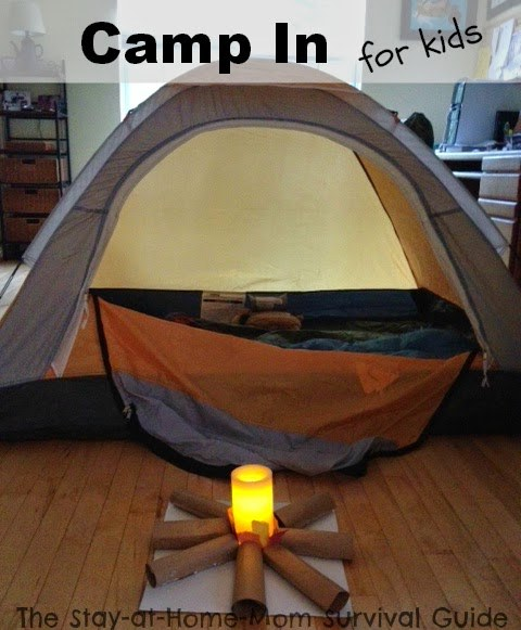camping in for kids