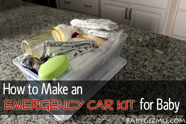 emergency car kit for babies and kids