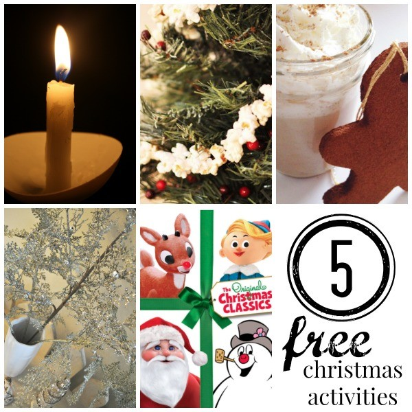 5 FREE Christmas Activities For Your Family