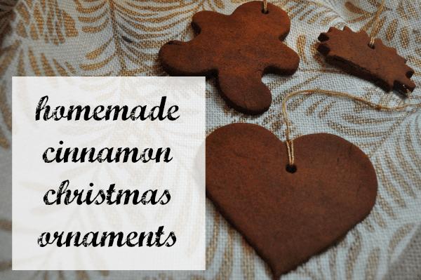 Homemade Christmas Ornaments Dough Cinnamon : Homemade cinnamon christmas ornaments