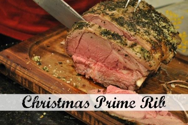 christmas prime rib