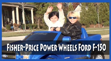 Fisher-Price Power Wheels Ford F-150 Review Video