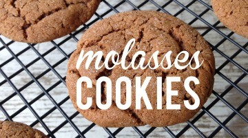 Molasses Cookies For Christmas