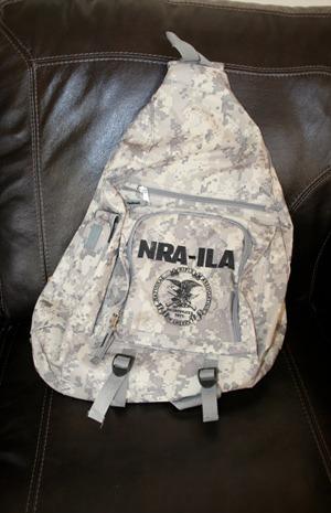nra backpack