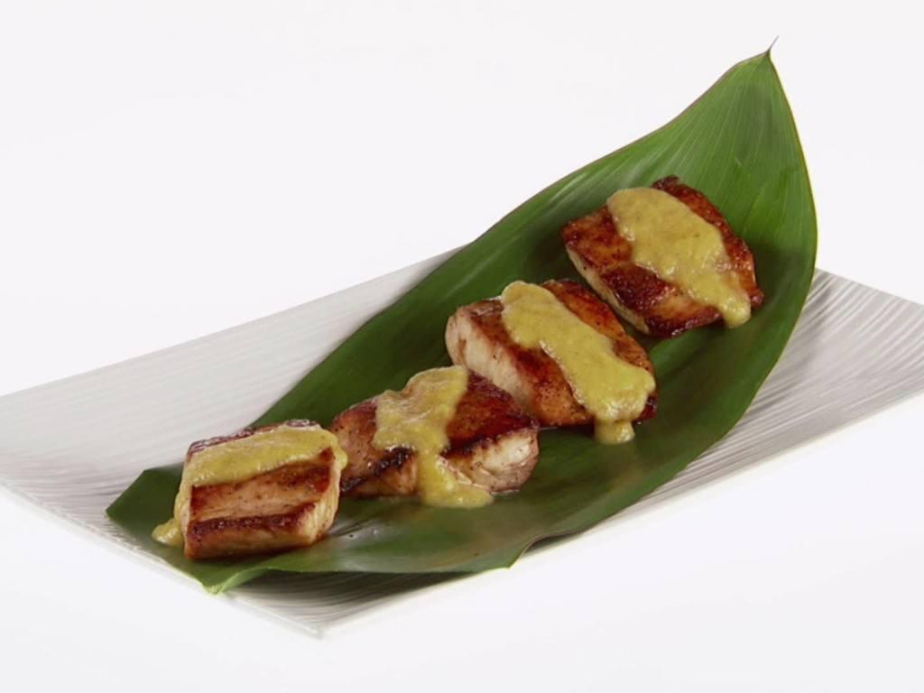 mahi mahi with mango