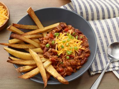 chili with french fries