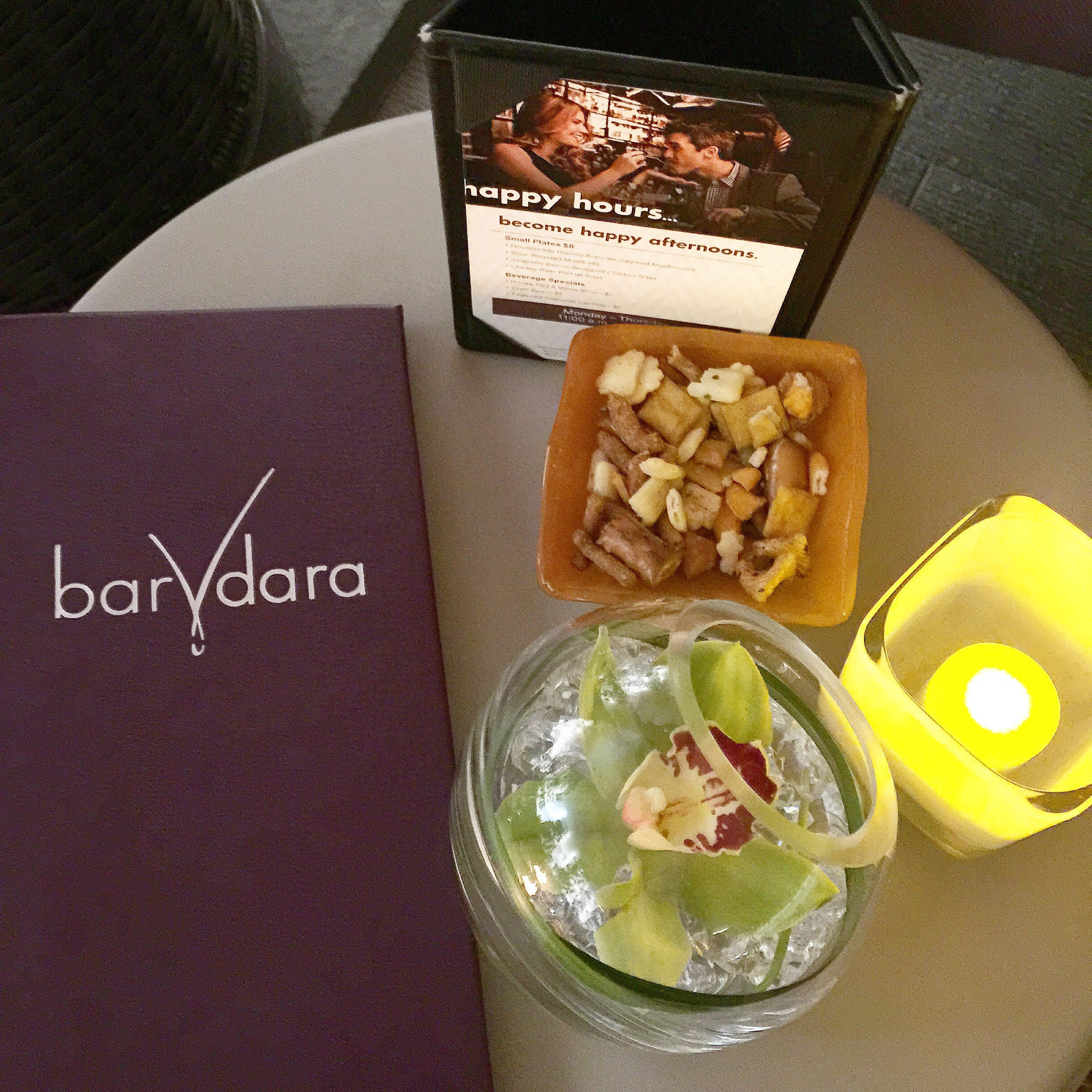 bar vdara snacks