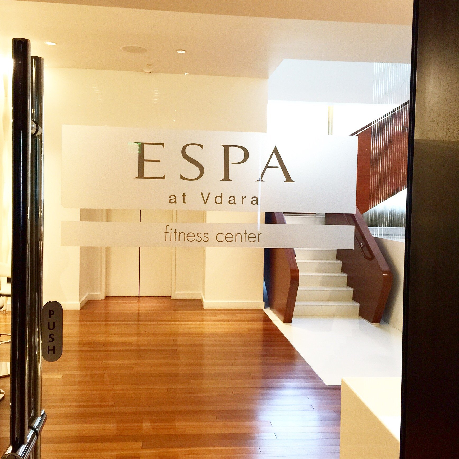 espa at vdara fitness center