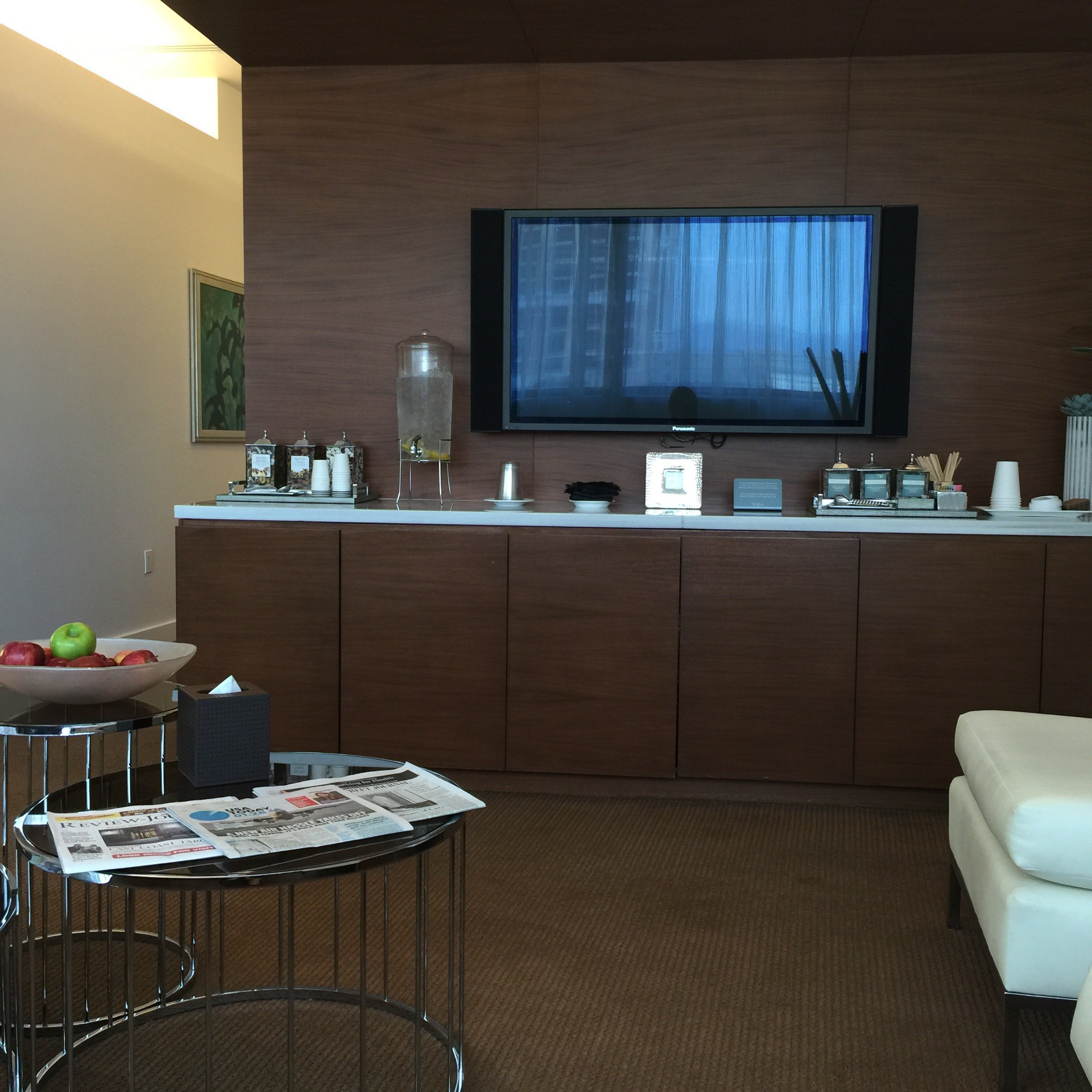 vdara spa waiting area