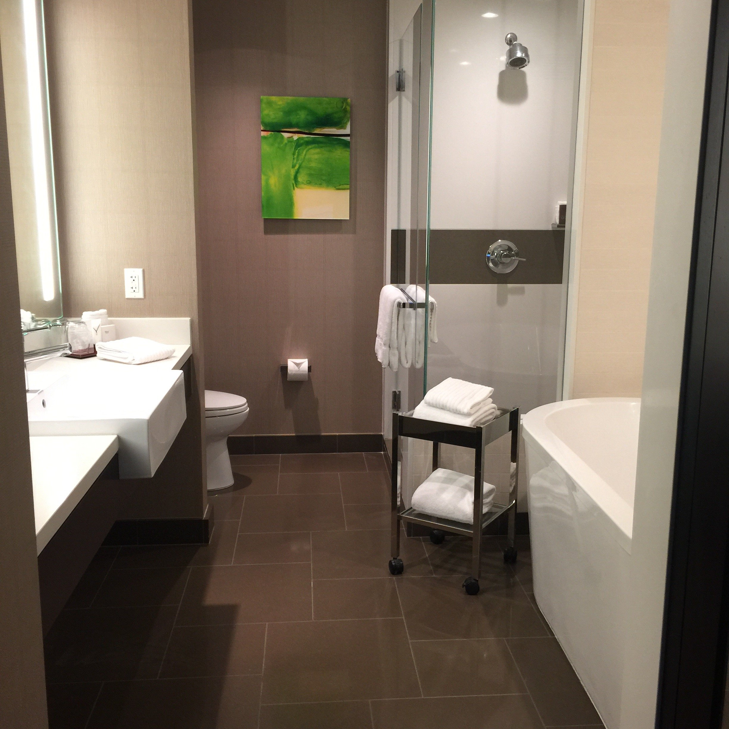 vdara room bathroom