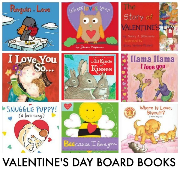 VALENTINE'S DAY BOARD BOOKS