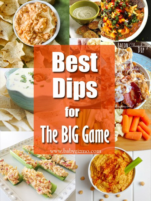 Best Appetizer Dip Recipes for the Big Game!