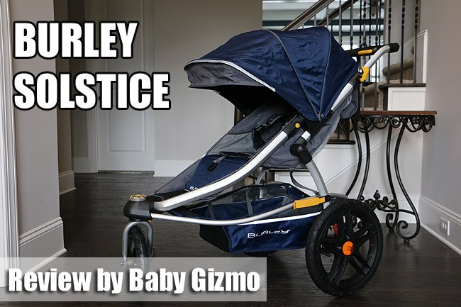 Burley Solstice Jogging Stroller Review (VIDEO)