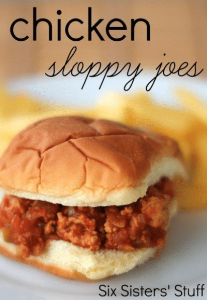 chicken sloppy joes