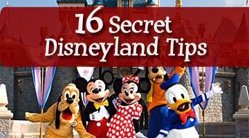 16 Secret Disneyland Tips!