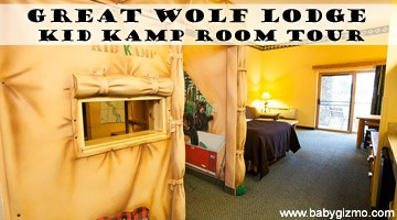 Great Wolf Lodge KidKamp Suite Room Tour (VIDEO)