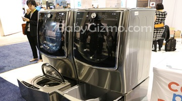 LG Twin Wash System + Mini Washer #CES2015