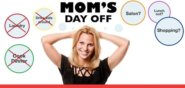 """My """"Mom's Day Off"""""""