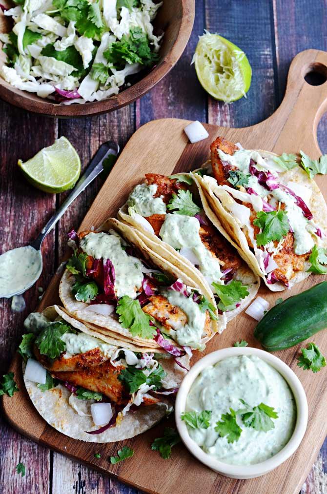 Blackened-Fish-Tacos-with-Avocado-Cilantro-Sauce-5