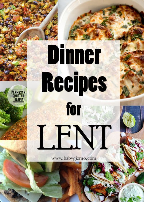 Recipes for Lent