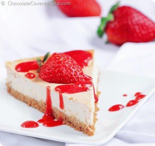 Vegan desserts: Vegan Cheesecake