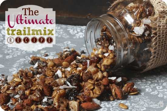 Great Snacks to Bring The Breastfeeding Mom: Trail Mix