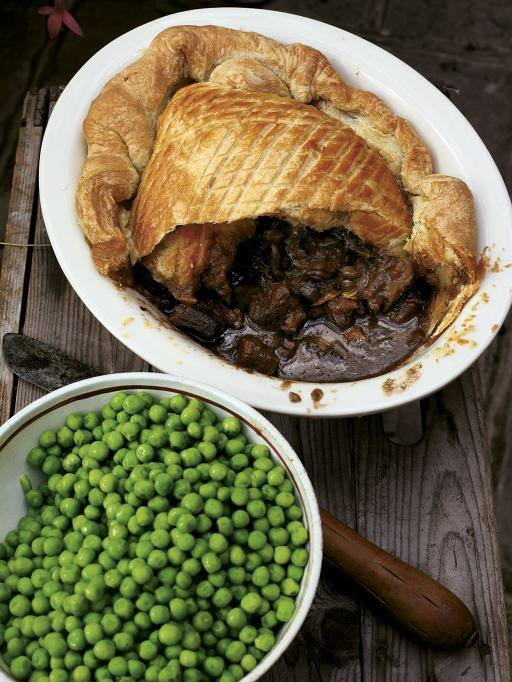 steake and guiness pie