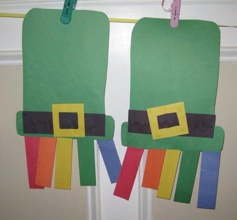 St. Patrick's Day Crafts: Leprechaun Hats