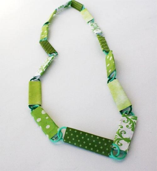 St. Patrick's Day Crafts: Necklace