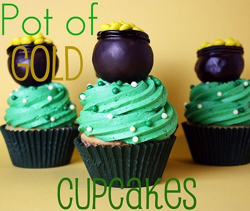 St Patrick's Day desserts: Cupcakes