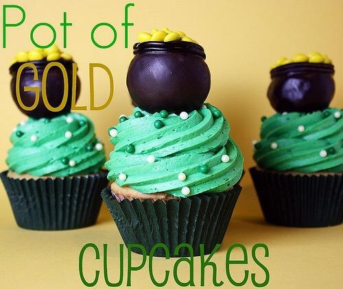 St Patrick's Day desserts: Cupcakes