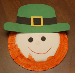 Leprechaun Face Craft